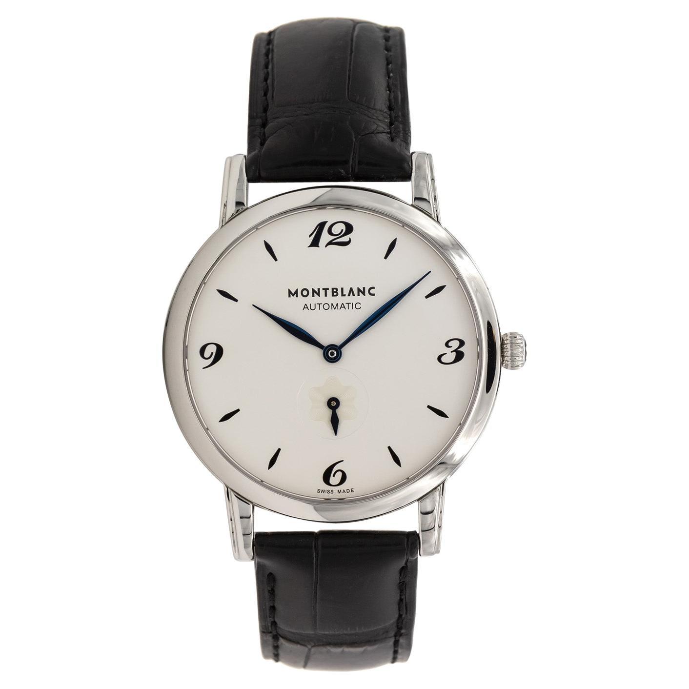 Montblanc Star Classique White Dial Men's Watch 107073