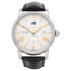 Montblanc Star Dual Time Stainless Steel 114857