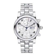 Montblanc Star Steel Silver Dial Men's Watch 106468