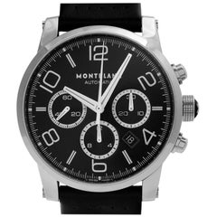 Montblanc Timewalker 7069, Black Dial, Certified and Warranty
