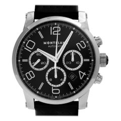Montblanc Timewalker 7069, Silver Dial, Certified and Warranty