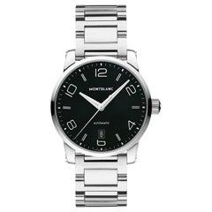 Montblanc Timewalker Automatic Black Dial Men's Watch 110339