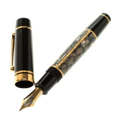 Montblanc Writers Edition Alexandre Dumas Limited Edition Fountain Pen, 18k Gold