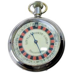 Monte Carlo Roulette Pocket Watch, circa 1920s