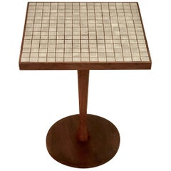 """Monte Carlo"" Tile Top End Table"