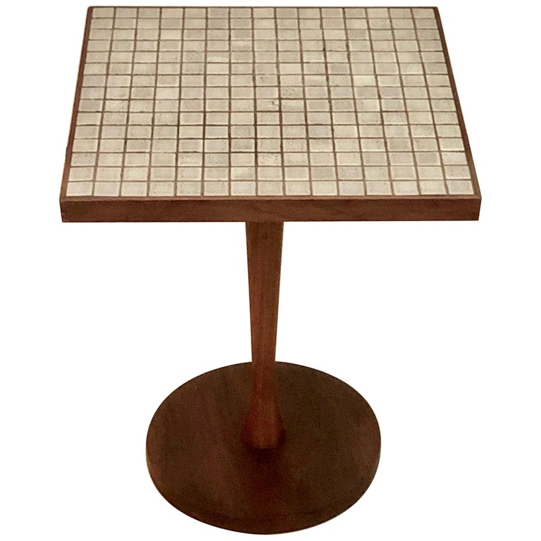 """""""Monte Carlo"""" Tile Top End Table For Sale"""