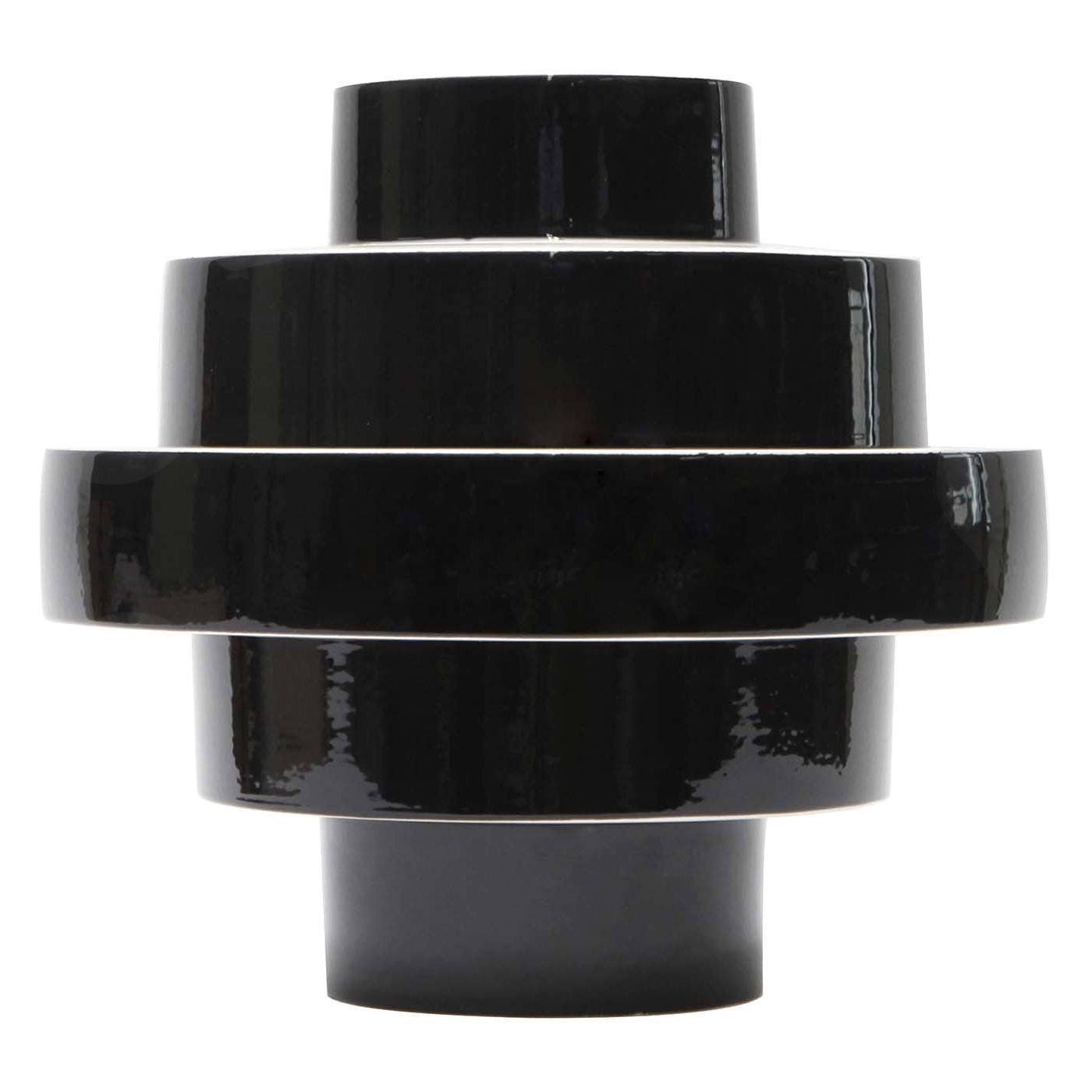 Monté Vase Black