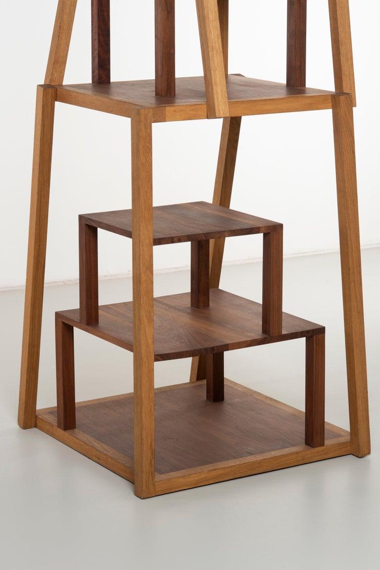 Oak Montefeltro Bookcase by Michele De Lucchi For Sale