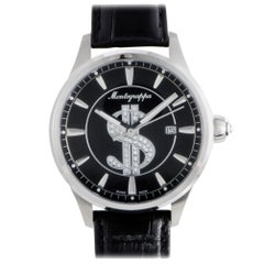 Montegrappa Cash IDF$WAIC, Millimeters Black Dial, Certified and Warranty