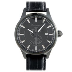 Montegrappa Cash IDF$WALC, Millimeters Black Dial, Certified and Warranty