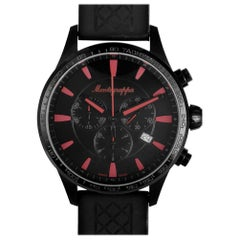 Montegrappa Fortuna IDFOWCSR, Millimeters Black Dial, Certified and Warranty