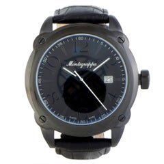 Montegrappa Fortuna IDOMWALC, Millimeters Black Dial, Certified and Warranty