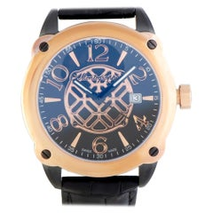 Montegrappa Fortuna IDOMWARC, Millimeters Black Dial, Certified and Warranty
