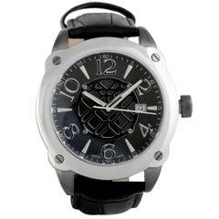 Montegrappa Fortuna Stainless Steel Watch IDOMWAIC
