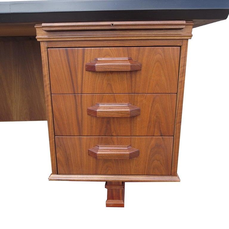 American Monteverdi Young Executive Desk by Maurice Bailey For Sale