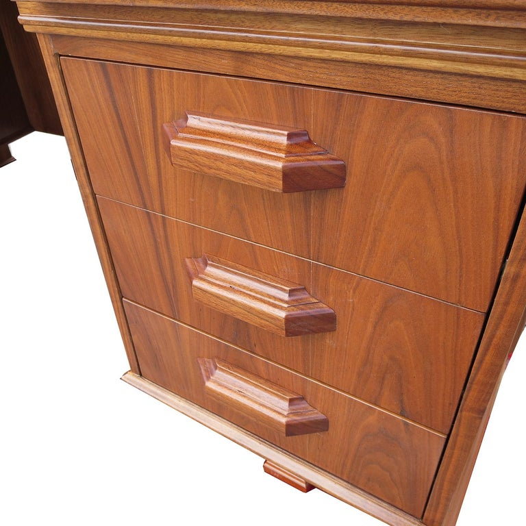 Lacquered Monteverdi Young Executive Desk by Maurice Bailey For Sale
