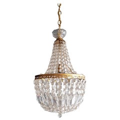 Montgolfièr Empire Sac a Pearl Chandelier Crystal Lustre Ceiling Lamp Hall