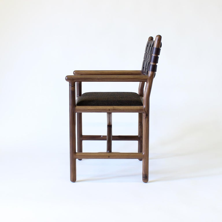 American Montgomery Modern Armchair Dinning Chair For Sale