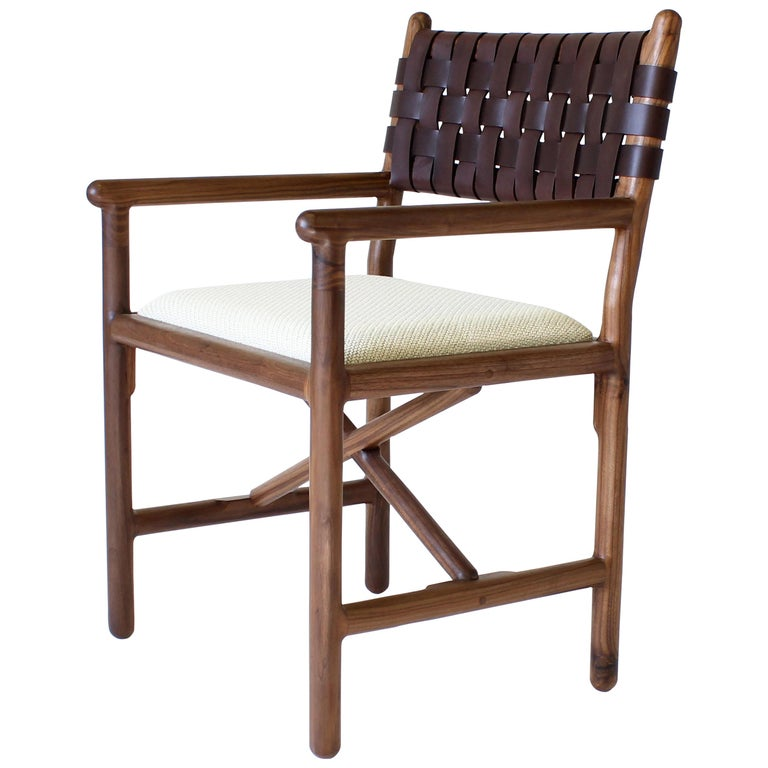 Montgomery Modern Armchair Dinning Chair For Sale