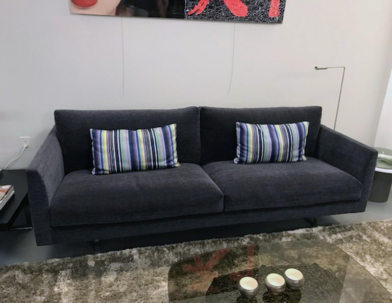 Dutch Montis Axel 3.5 Seater Fabric Sofa For Sale