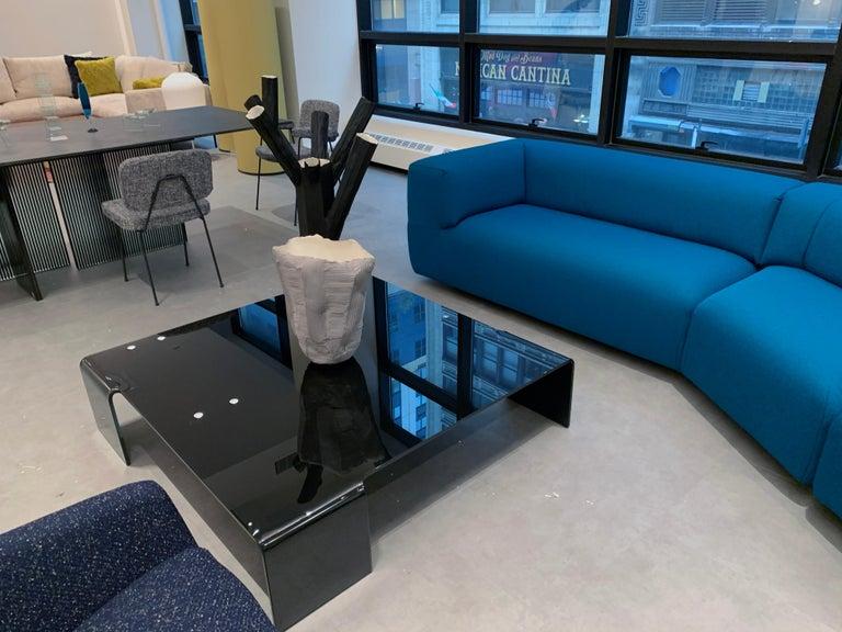 Montis Aztec 2.5-Seat Sofa Upholstered in Raf Simons Fabric 6