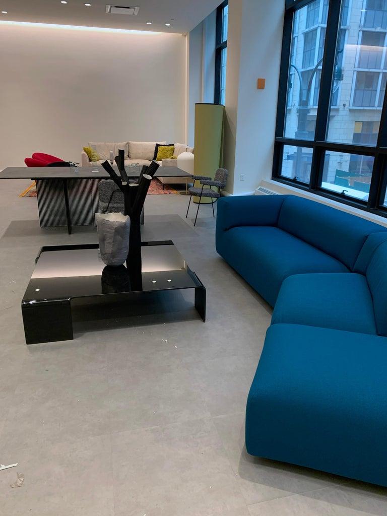 Montis Aztec 2.5-Seat Sofa Upholstered in Raf Simons Fabric 1