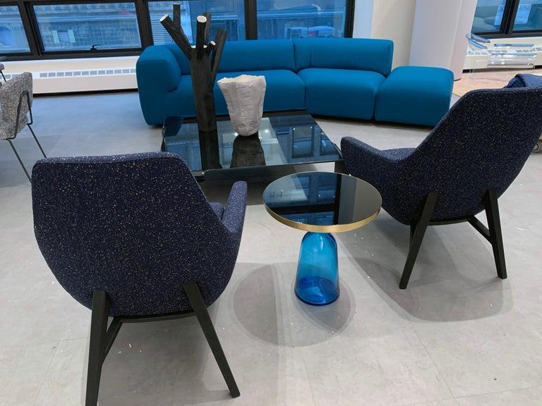 Dutch Montis Aztec 2.5-Seat Sofa Upholstered in Raf Simons Fabric