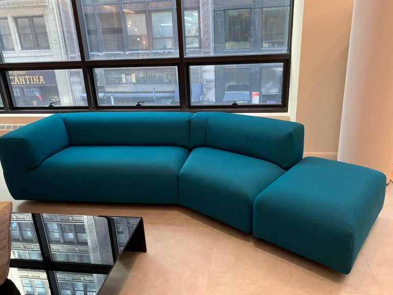Montis Aztec 2.5-Seat Sofa Upholstered in Raf Simons Fabric 2
