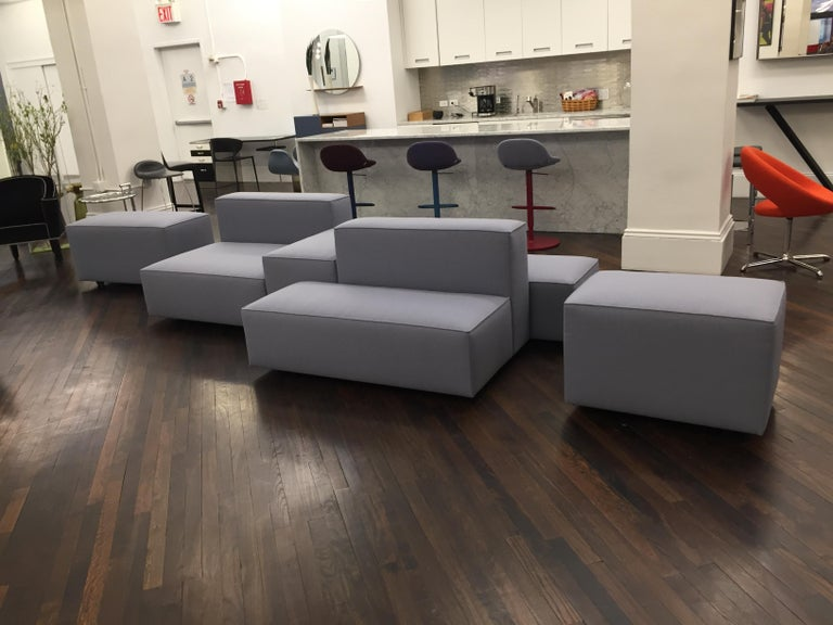 Montis Domino Modular Sofa In New Condition For Sale In New York, NY