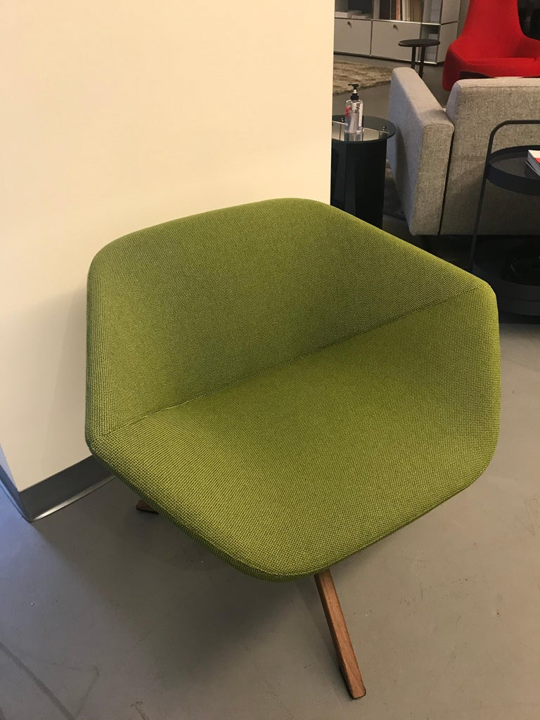 Contemporary Montis Green Ella Chair For Sale