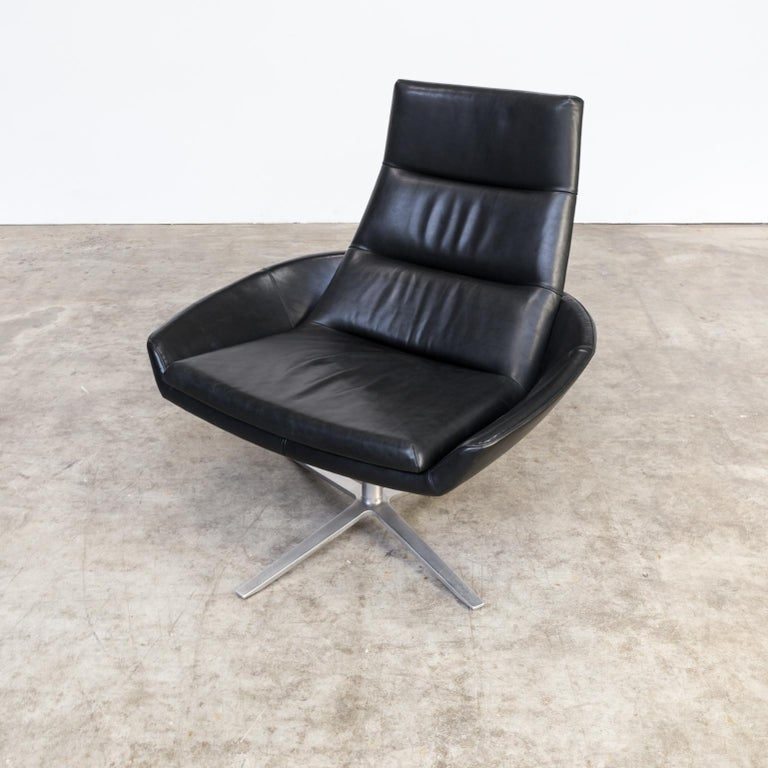 Design Relax Fauteuil.Montis Hugo Lounge Relax Fauteuil Black Leatherette For Sale At