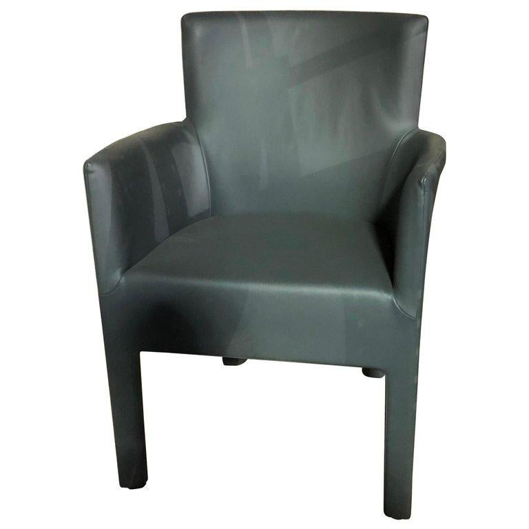 Dutch Montis King Leather Armchair by Gijs Papavoine For Sale