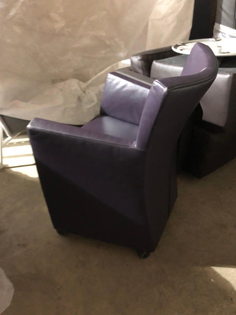 Montis Leather Sting Armchair For Sale 1