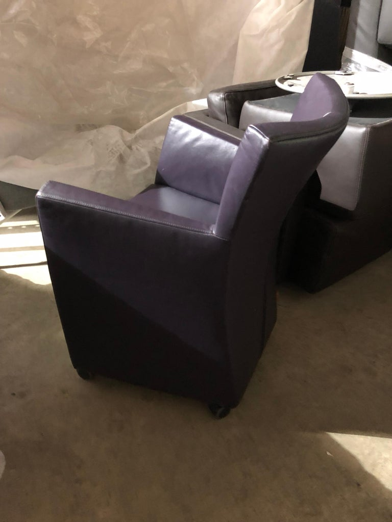 Montis Leather Sting Armchair For Sale 2