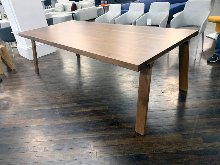 Contemporary Montis Solid wood Walnut Table For Sale