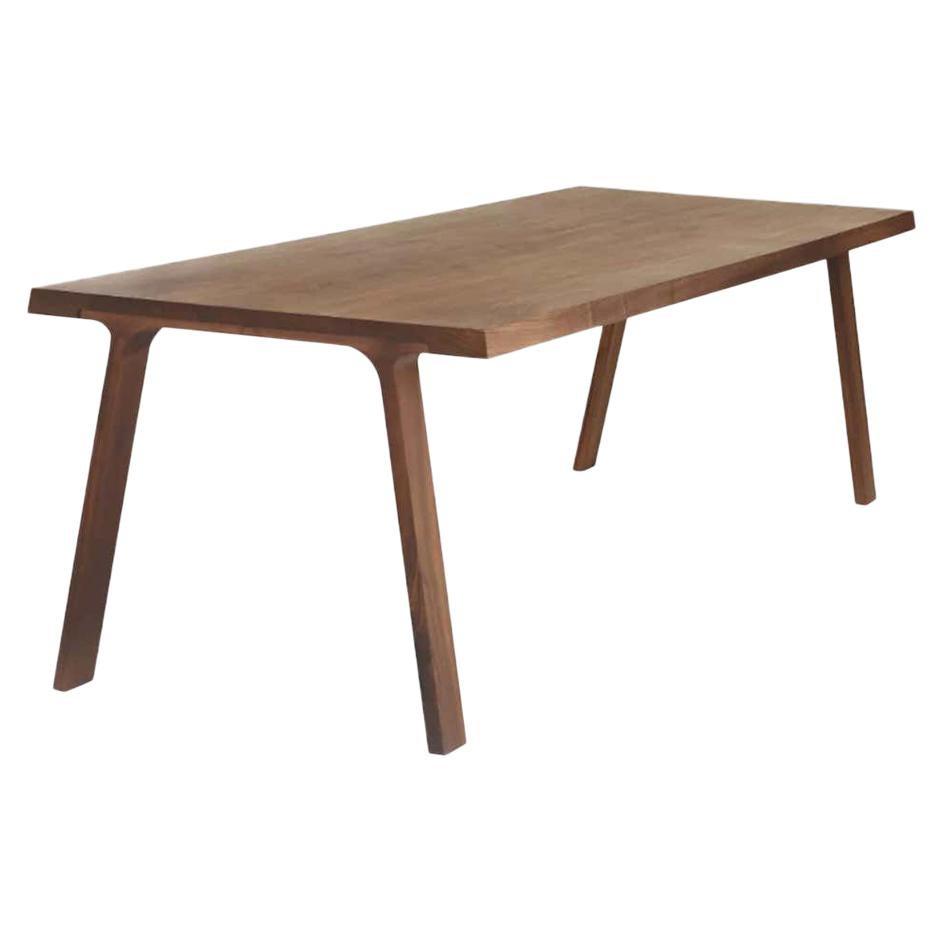 Montis Solid wood Walnut Table