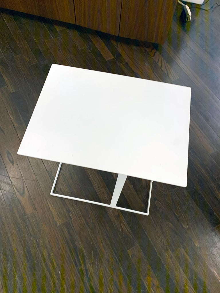 Dutch Montis White Annex Multifunctional Side Table For Sale
