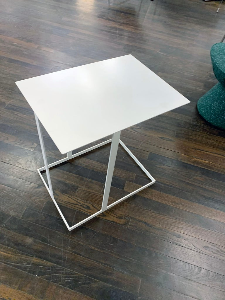 Contemporary Montis White Annex Multifunctional Side Table For Sale