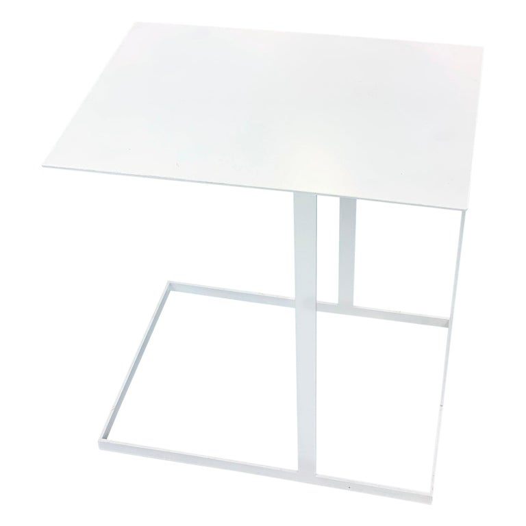 Montis White Annex Multifunctional Side Table For Sale