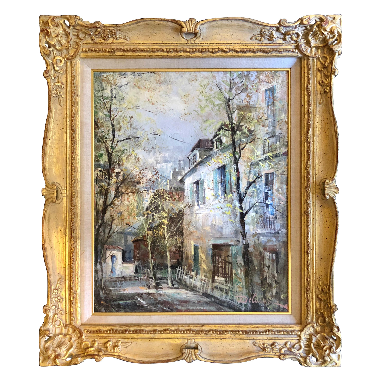 """""""Montmarte, Paris"""" by Lucien Delaure"""