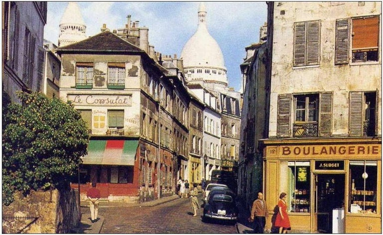 Late 20th Century Montmartre by Noël Givogre For Sale
