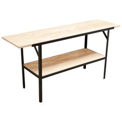 Montrose Console Table with Shelf by Lawson-Fenning
