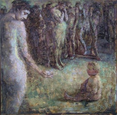 03-051 - 21st Century, Contemporary, Nude Painting, Oil on Canvas