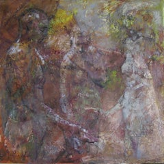 04-081 - 21st Century, Contemporary, Nude Painting, Oil on Canvas