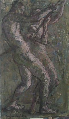 04-11-5 - 21st Century, Contemporary, Nude Painting, Oil on Canvas