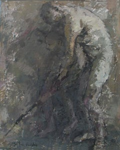 04-11-7 - 21st Century, Contemporary, Nude Painting, Oil on Canvas