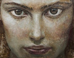 1-1-13-14 - 21st Century, Contemporary, Portrait Painting, Oil on Canvas
