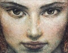 1-1-13-14B - 21st Century, Contemporary, Portrait Painting, Oil on Canvas