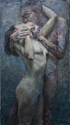 1-10-13 - 21st Century, Contemporary, Nude Painting, Oil on Canvas