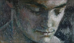 1-11-11 - 21st Century, Contemporary, Portrait Painting, Oil on Canvas